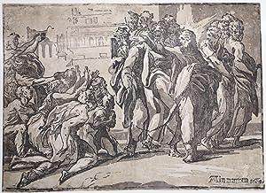 """Cristo guarisce i Lebbrosi: Niccolò ROSSIGLIANI detto """"Il Vicentino"""""""