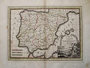 Li Regni di Spagna e Portogallo delieneati: Giovanni Maria CASSINI
