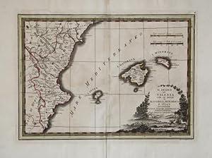 Il Regno di Valenza con le isole di Majorica, Minorica e Ivica delineate sulle ultime osservazioni:...