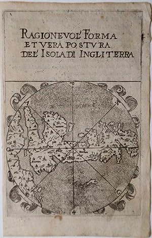Ragionevole Forma et Vera Postura del' Isola di Ingliterra: Francesco FERRETTI