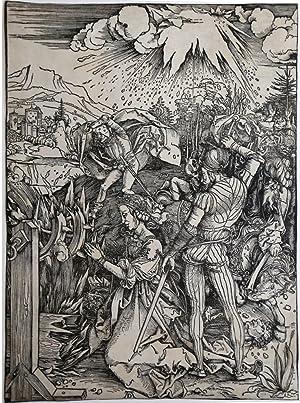 Il martirio di S. Caterina: Albrecht DURER