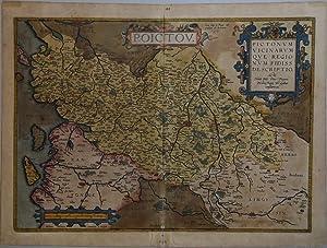 Poictou. Pictonum Vicinarum Que Regionum Fidiss Descriptio . . .: Abraham ORTELIUS