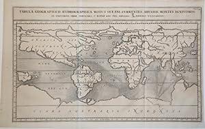 Tabula Geographico-Hydrographica Motus Oceani, Currentes, Abyssos, Montes Igniuomos In Universo ...