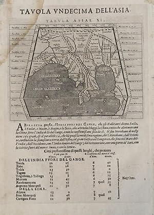 Tabula Asiae XI: Giovanni Antonio MAGINI