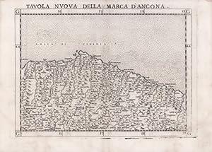 Tavola nova della Marca d'Ancona: Girolamo RUSCELLI