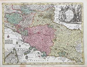 "Novissima et accuratissima delin. Status Ecclesiae.: Georg Matthaus SEUTTER ""il Vecchio"""