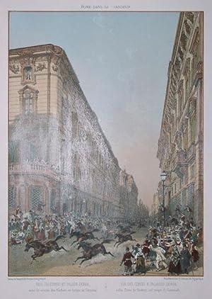 Via del Corso e palazzo Doria: Felix BENOIST