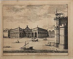 Le Port et la ciitadelle d'Ancone: Alexandre de ROGISSART