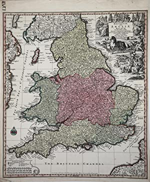 "Britanniae sive Angliae Regnum: Matthaus SEUTTER ""il Giovane"""