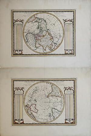 Emisfero Terrestre Meridionale delineato secondo le ultime Osservazioni - Emisfero Terrestre ...