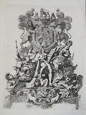 Allegoria Gran Bretagna: Vincenzo Maria CORONELLI