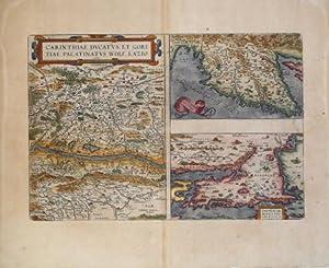 Carinthiae Dvcatvs, et Goritiae Palatinatvs, Wolf. Lazio: Abraham ORTELIUS