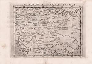 Moscovia Nvova Tavola: Girolamo RUSCELLI