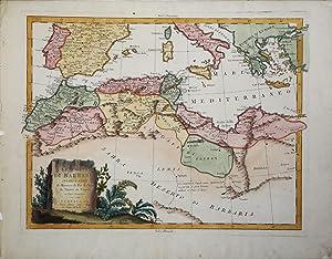 Le Coste di Barbaria ovvero i Regni di Marocco, di Fez, di Algeri, di Tunisi, di Tripoli ci Paesi ...