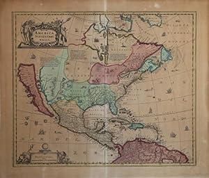 America Septentrionalis: Hendrick HONDIUS