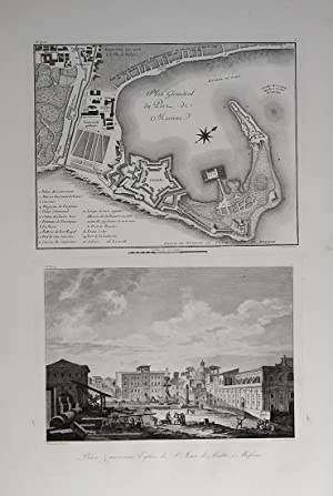 Plan Géométgral du Port de Messine  : Richard de SAINT