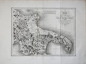 Carte de la seconde partie du Royaume de Naples…: Richard de SAINT NON