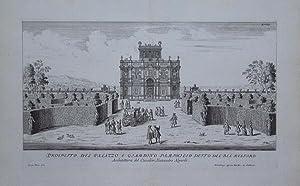 Prospetto del Palazzo e Giardino Pamphilio detto del bel Respiro: Joachim von SANDRART