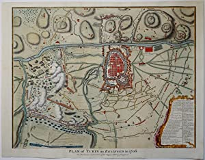 Plan of Turin as Besieged in 1706 for mr. Tindal's Continuation of Mr. Rapin's History of England