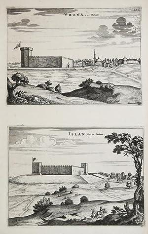 Vrana.en Dalmatie/Islan.Fort en Dalmatie: Pierre MORTIER