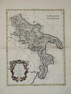 Il Regno di Napoli diviso nelle sue provincie: Antonio ZATTA