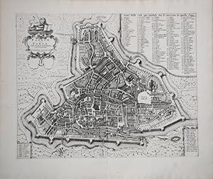 Padoue ou Padua. Ville Capitale duPadouan aux Venetiens: Pierre MORTIER