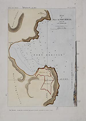 Plan du Phare du Port Hercule
