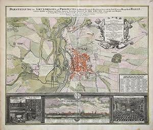 Darstellung des Grundrisses und Prospectes der: Johannes Baptiste HOMANN