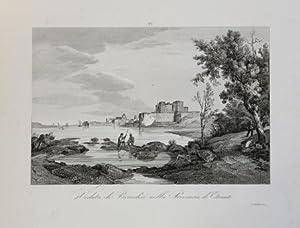 Veduta di Brindisi nella Provincia di Otranto: Attilio ZUCCAGNI ORLANDINI