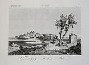 Veduta di Gallipoli nella Provincia di Otranto: Attilio ZUCCAGNI ORLANDINI