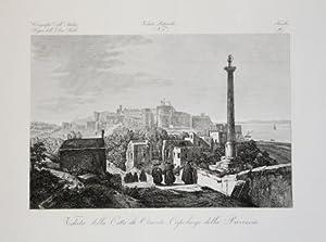 Veduta della Città di Otranto, Capoluogo della Provincia: Attilio ZUCCAGNI ORLANDINI