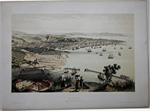 Trieste vue prise u dessus du Lazaret: Alfred GUESDON