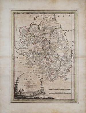 La Lusazia divisa ne' suoi Stati e: Giovanni Maria CASSINI