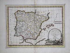 L'Antica Ispania divisa in tre parti principali,: Giovanni Maria CASSINI