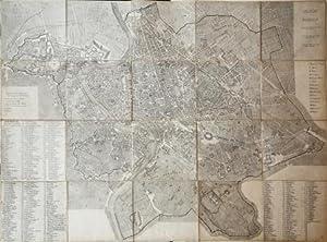 Pianta di Roma nel 1813 circa.: Anonimo