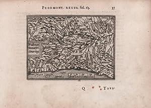 Pedemontanae Vicinorumq(ue): Abraham Ortelius &
