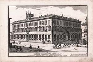 Palazzo dell'Ecc.mo Sig.r duca Gaetani Architettura di Bartolomeo Amannat Fiorentino: ...