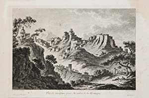 Vue de Corigliano prise du milieu de la Montagne: Richard de SAINT NON