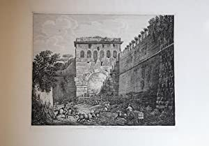 Veduta dell'Antica Porta Viminale chiusa.: Luigi ROSSINI