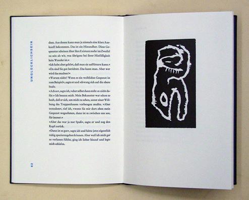 Betrachtung. Mit dreizehn Originalholzrissen von Franz Hitzler.: Kafka, Franz -