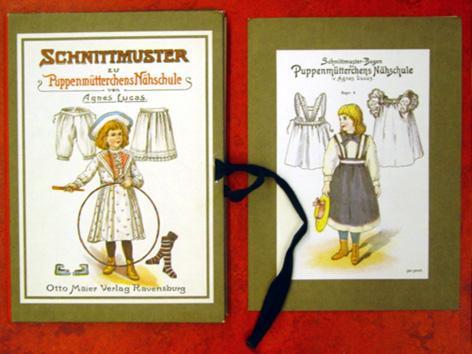 Schnittmuster zu Puppenmütterchens Nähschule. von Lucas, Agnes ...