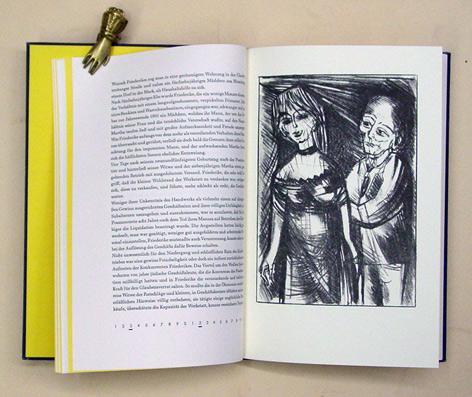 Einladung zum Lever Bourgeois. Mit vier Original-Steinlithographien: Hein, Christoph -