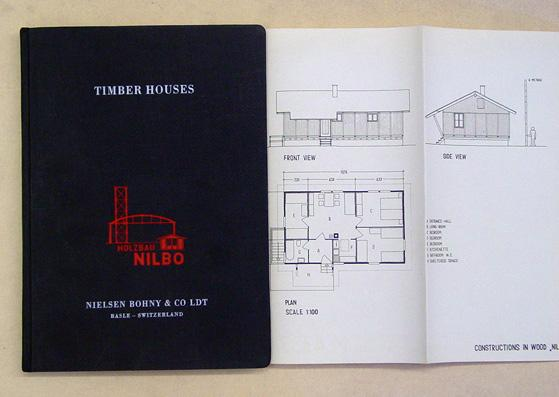 New Homes. Prefabricated Timber Houses («Nilbo»-System). Edition 1944.: [Holzbau ...