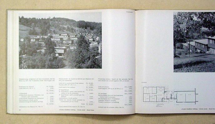 Der Siedlungsbau in der Schweiz. Les colonies: Maurizio, Julius