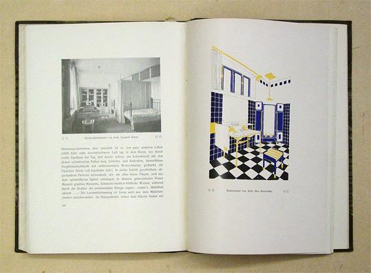 die moderne wohnung und ihre ausstattung mit 173 bildern und 8 farbigen tafeln nach werken und entwrfen von modernen architekten und ihren schulen