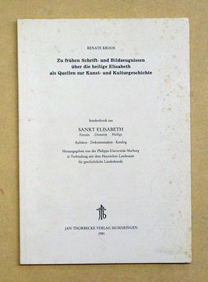 Zu frühen Schrift- und Bildzeugnissen über die: Kroos, Renate