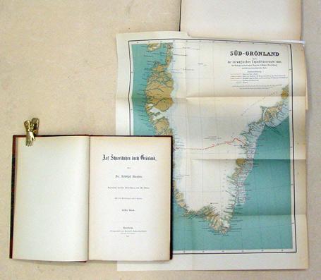 Auf Schneeschuhen durch Grönland. [1. u. 2.: Nansen, Fridtjof