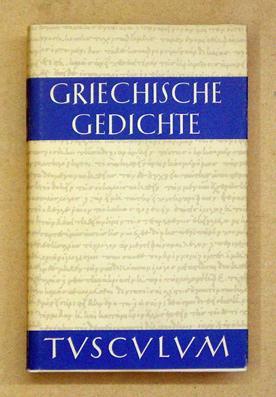 Griechische Gedichte Mit übertragungen
