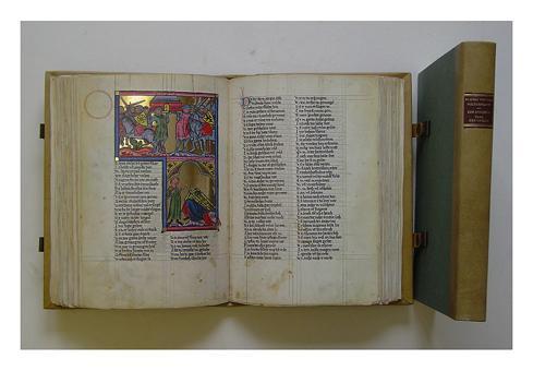 Faksimile - Rudolf von Ems: Weltchronik. Der