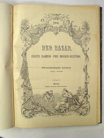 Der Bazar (52. Jg.). Erste Damen und